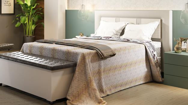 Qual edredom combina mais com seu quarto?